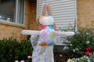 Mama made Easter bunny